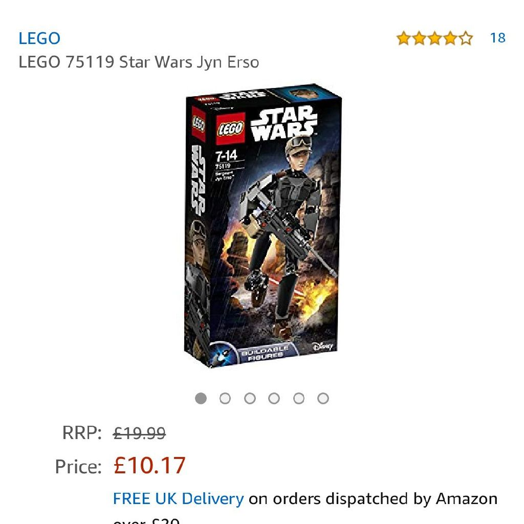 Star wars Lego set new