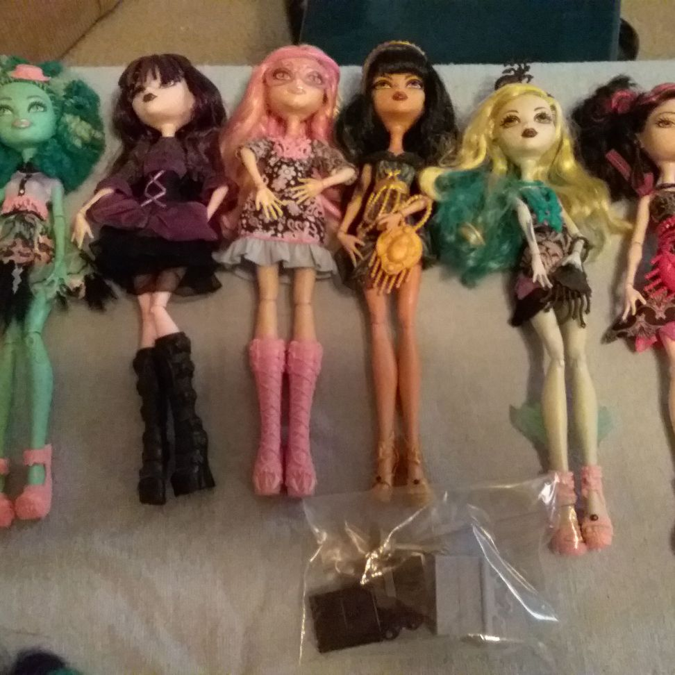Lights camera action monster high dolls
