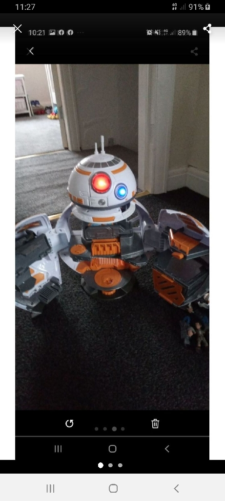bb8 star wars command centre