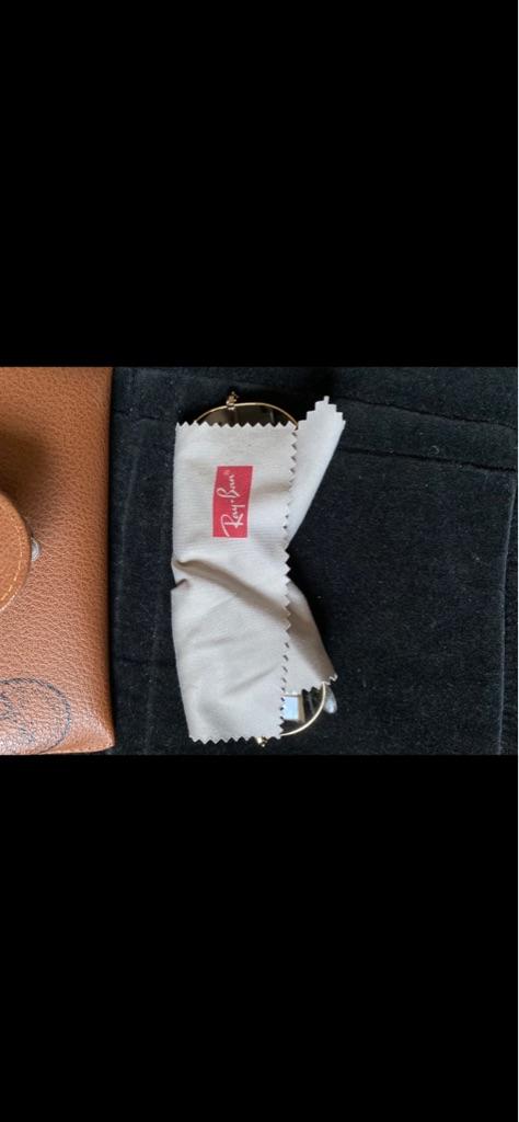 Men's Original Ray Bans with Original Case+cloth