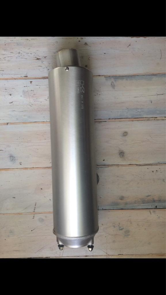 Kawasaki motorcycle exhaust silencer KHI K 373 e1 0465