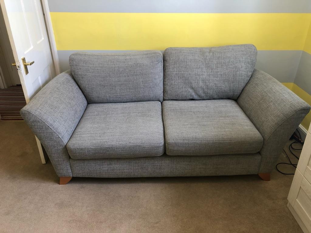 2 Seater Grey DFS Fenton Sofa