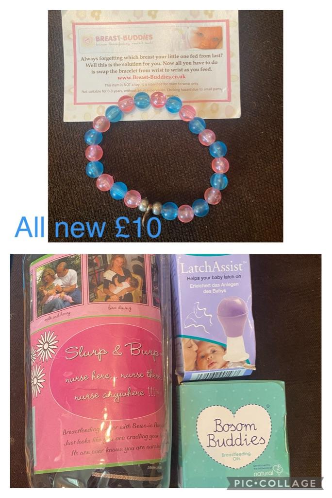 Breast feeding starter kit