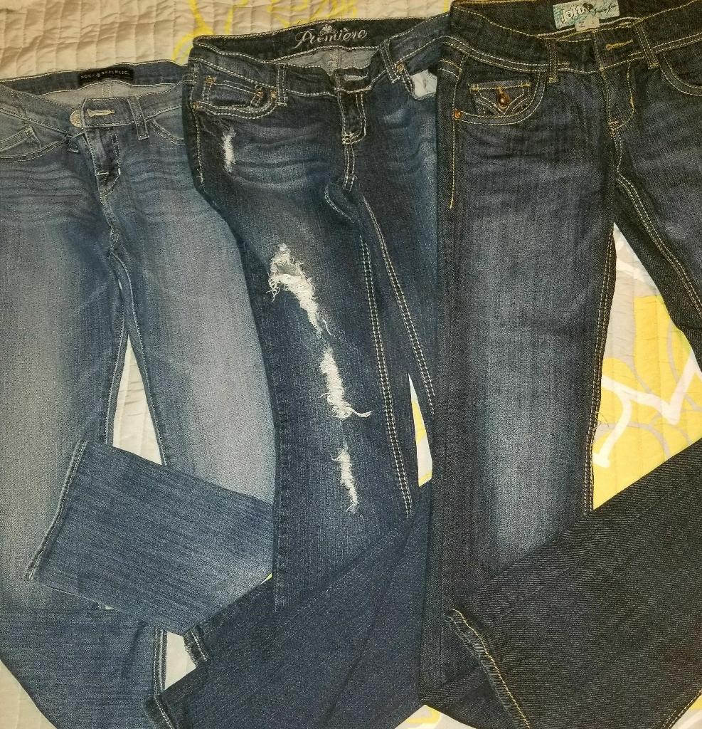 Women's size 3/4 jeans