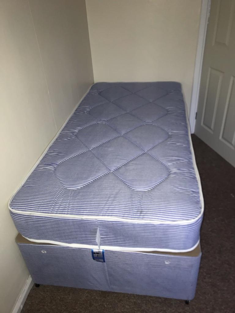 Single Mattress and Bed Base