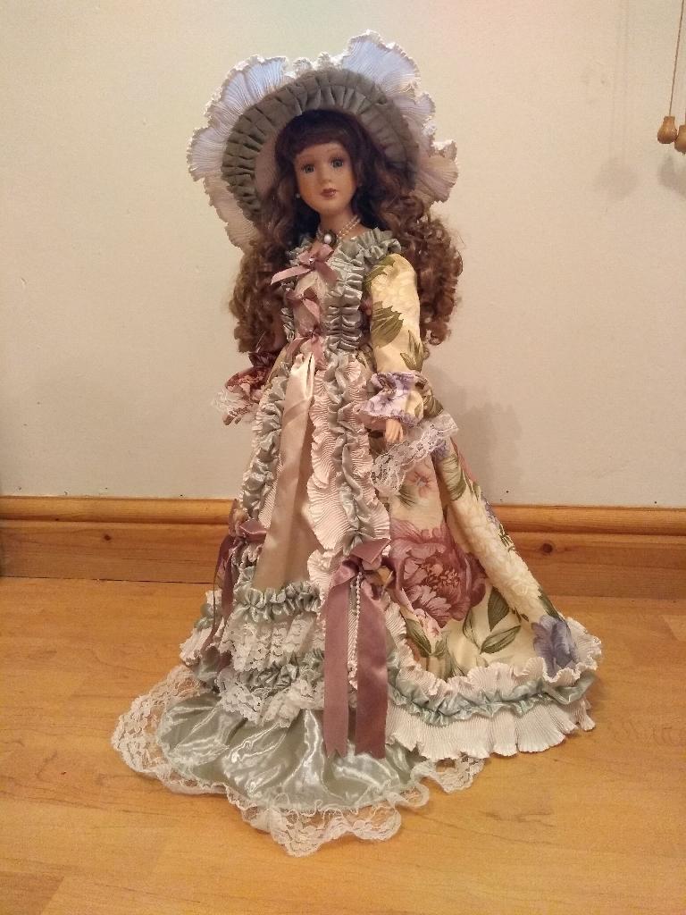 Porcelain Doll by Vanity Fair