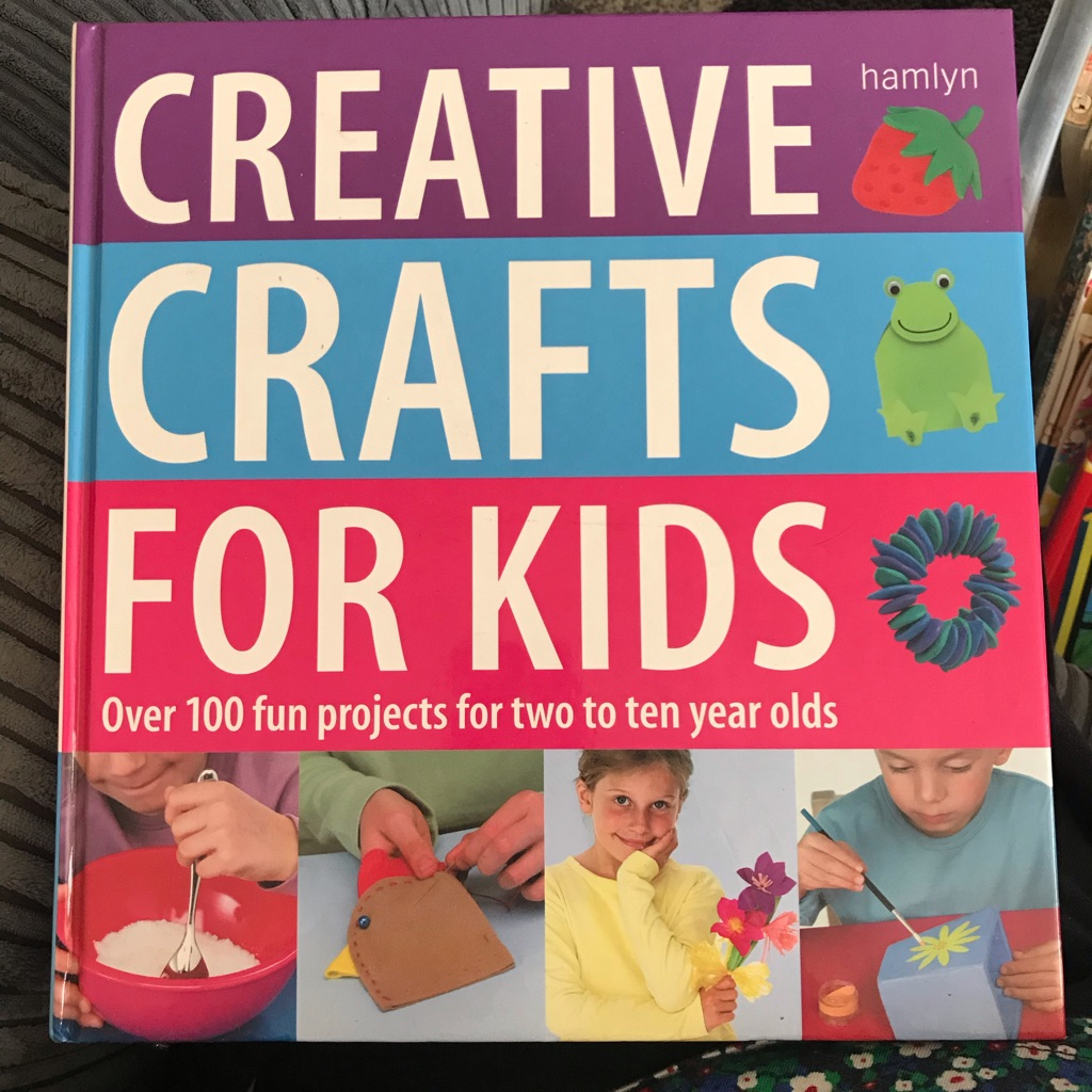 Creative Crafts for Kids Hardback book