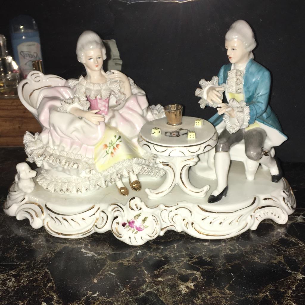 Capiodimonte Glazed Porcelain