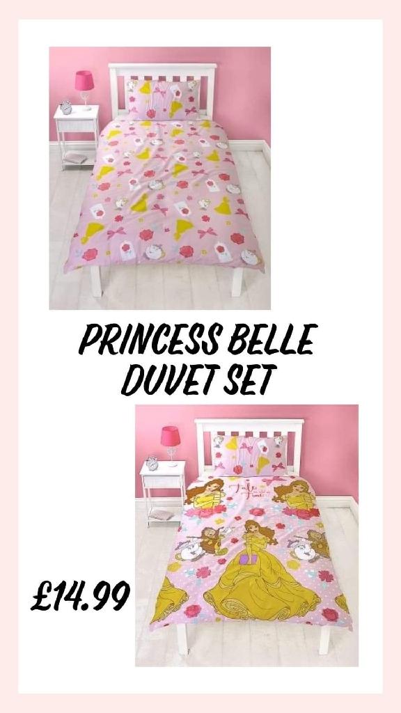 Princess belle duvet set