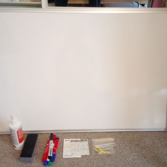 Whiteboard, pens, eraser & cleaner - Holyrood, Edinburgh