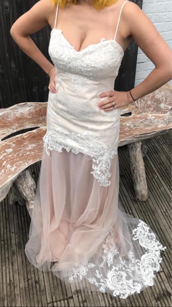 Angela vickers Wedding dress!