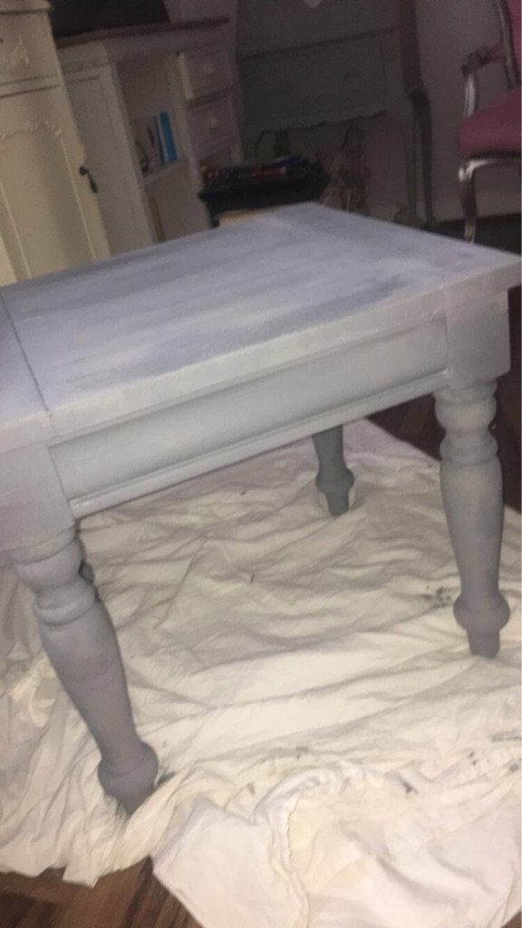 Moroccan wooden table shabby chic