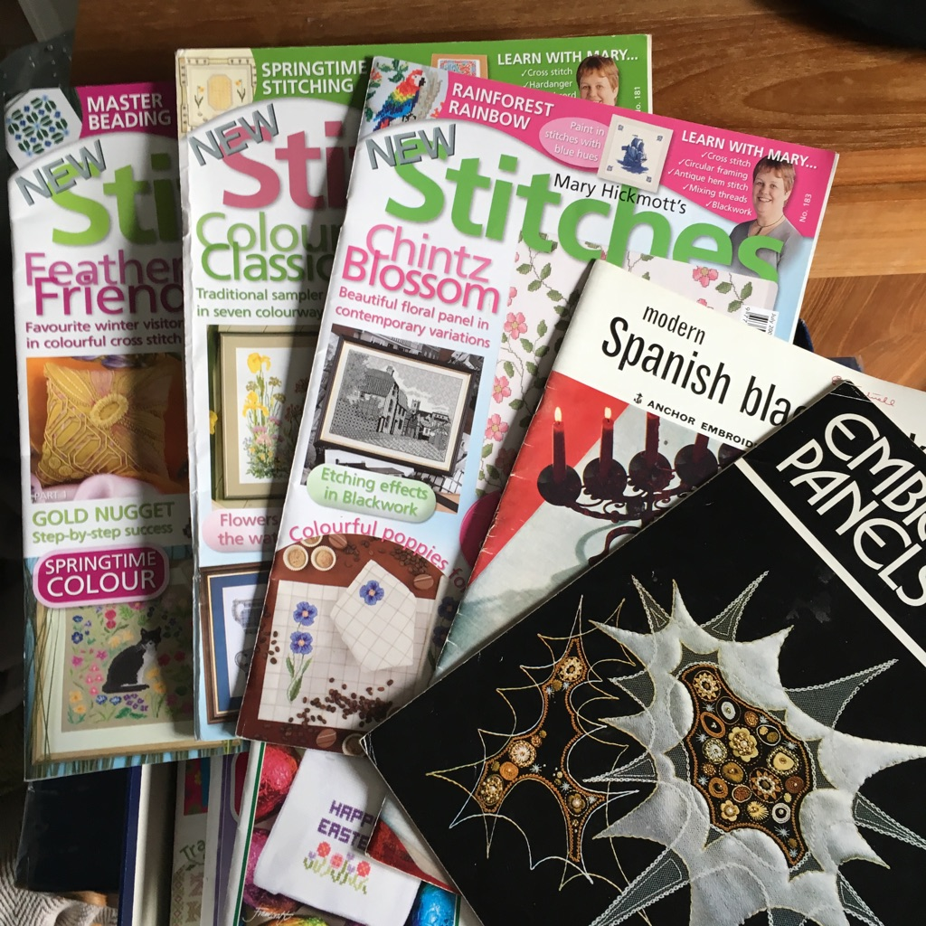 Cross stitch and embroidery magazines