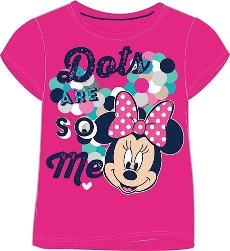 Girls micky and minnie mouse t-shirt