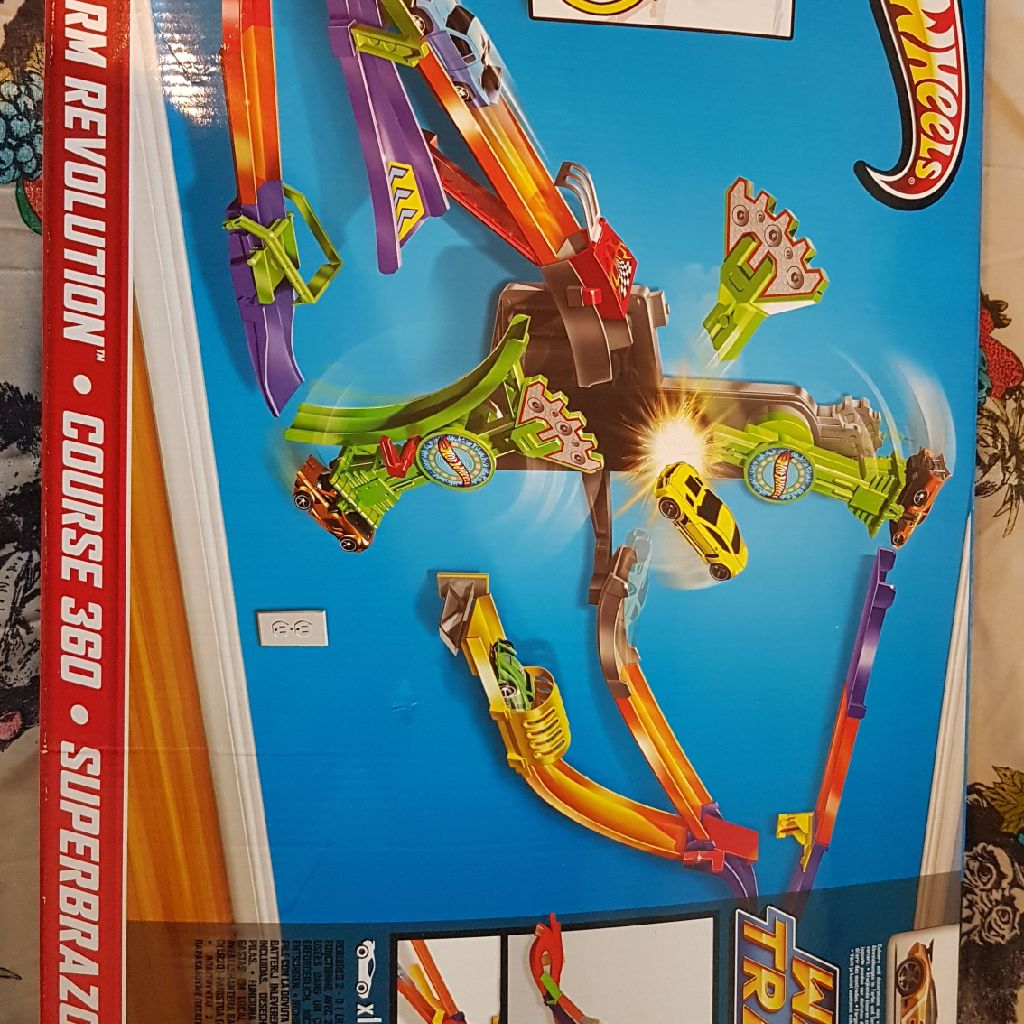Hot Wheels Roto Arm Revolution