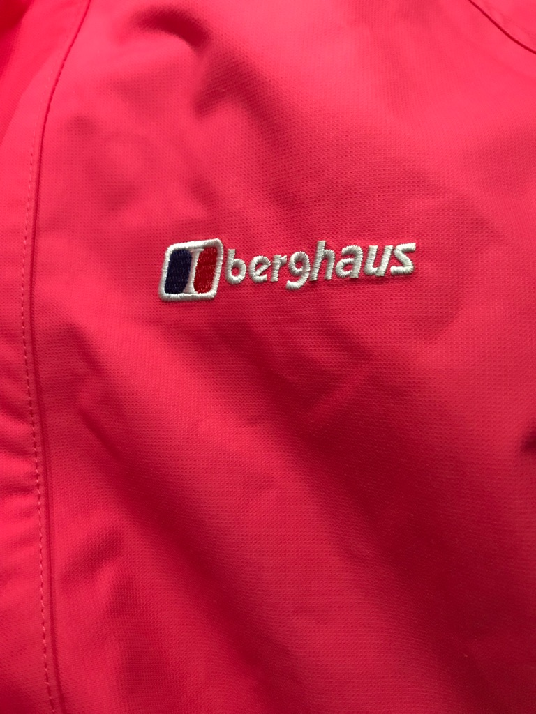 Ladies size 12-14 berghaus coat and black size M north face coat