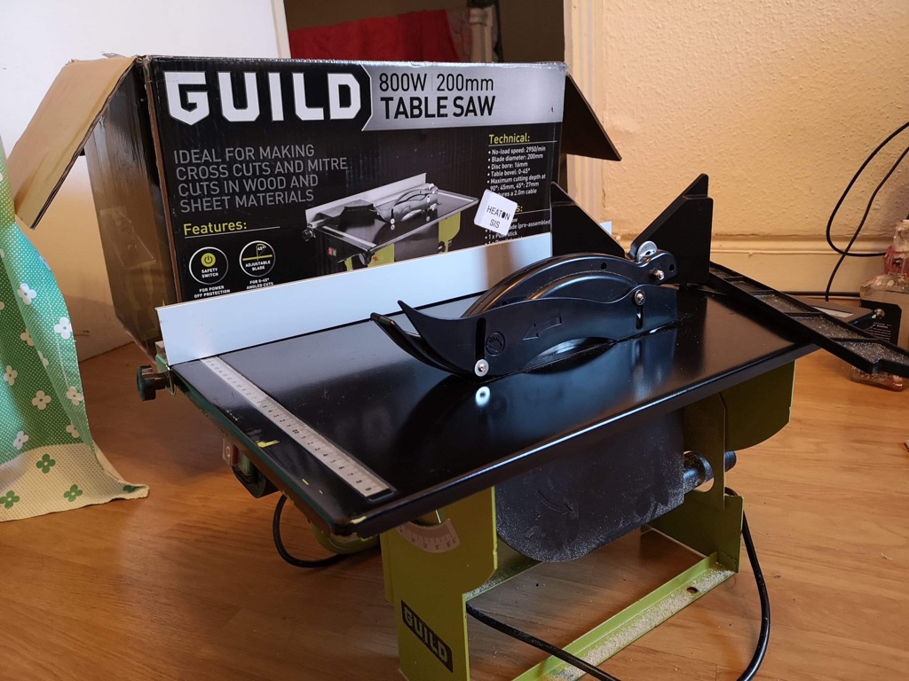 Guild Table Saw