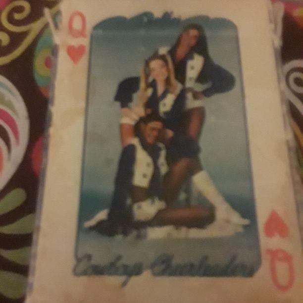 Dallas Cowboy cheerleader cards