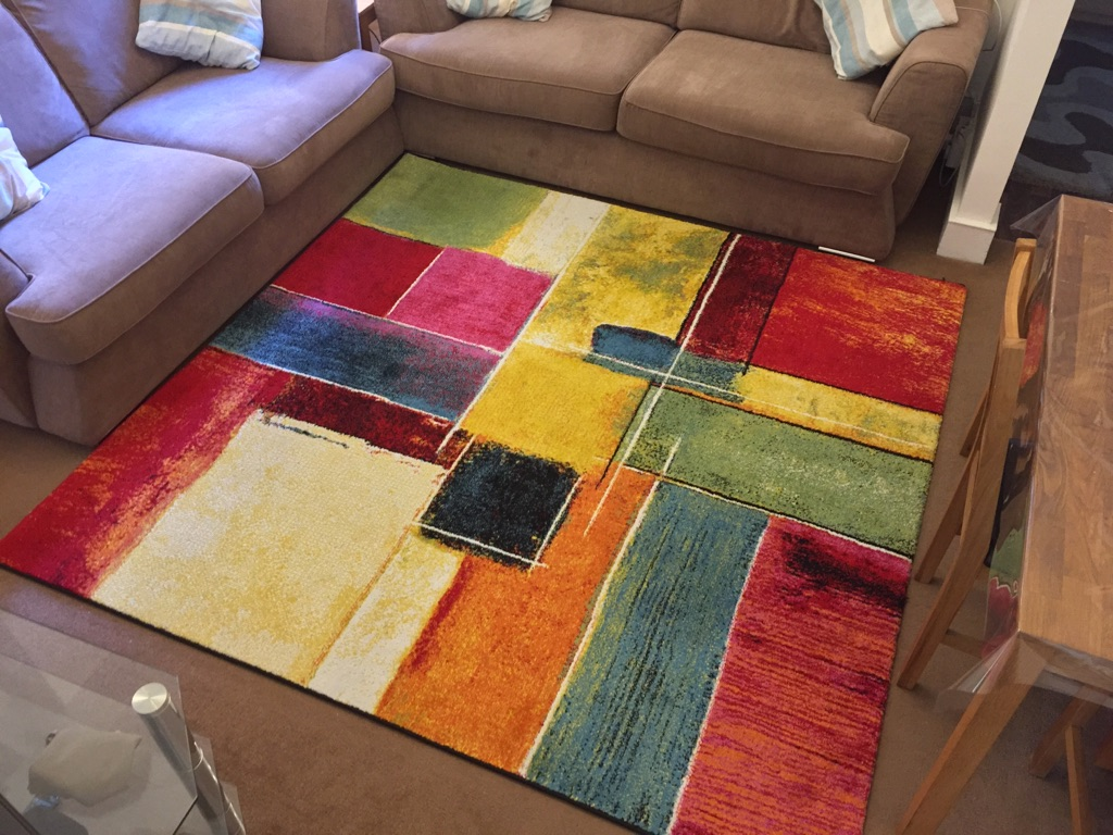Modern Colourful Rug Carpet Village
