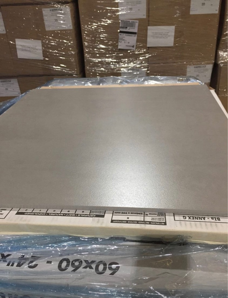 Light Grey Modern Cement Italian Porcelain tiles 600x600mm £5 each tile