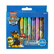 Paw Patrol Crayon Set