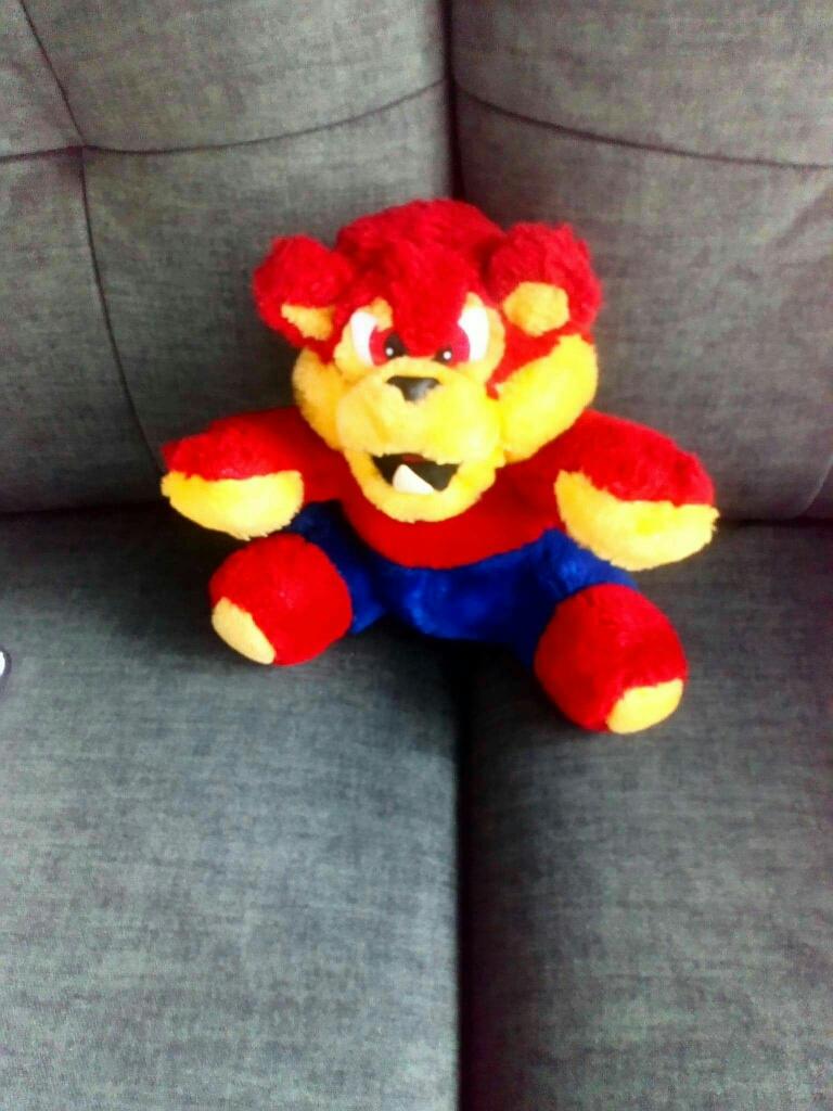 1990s rare warebare Teddy changeable face