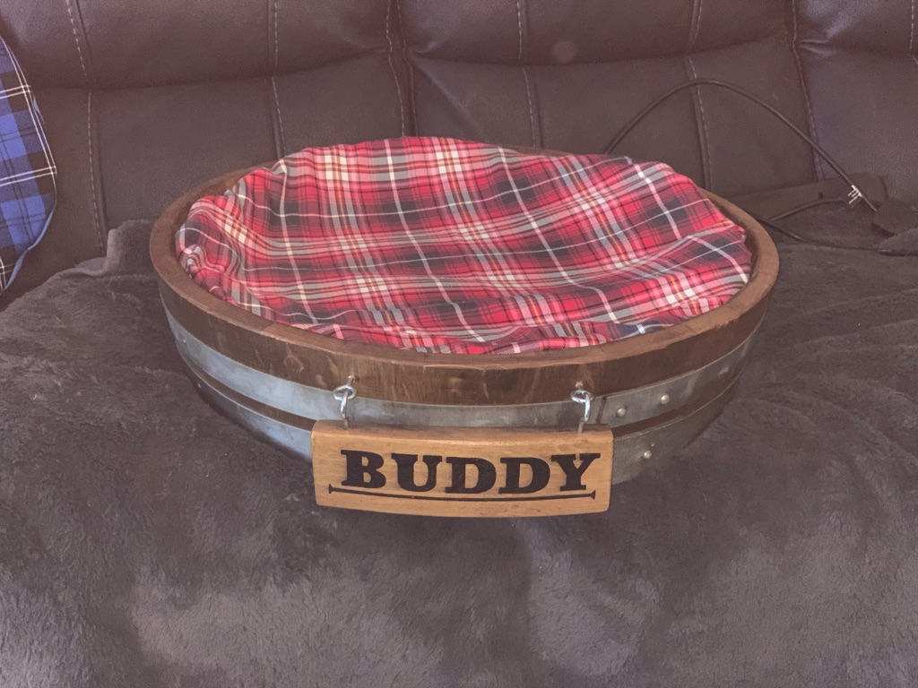 Different size dog beds