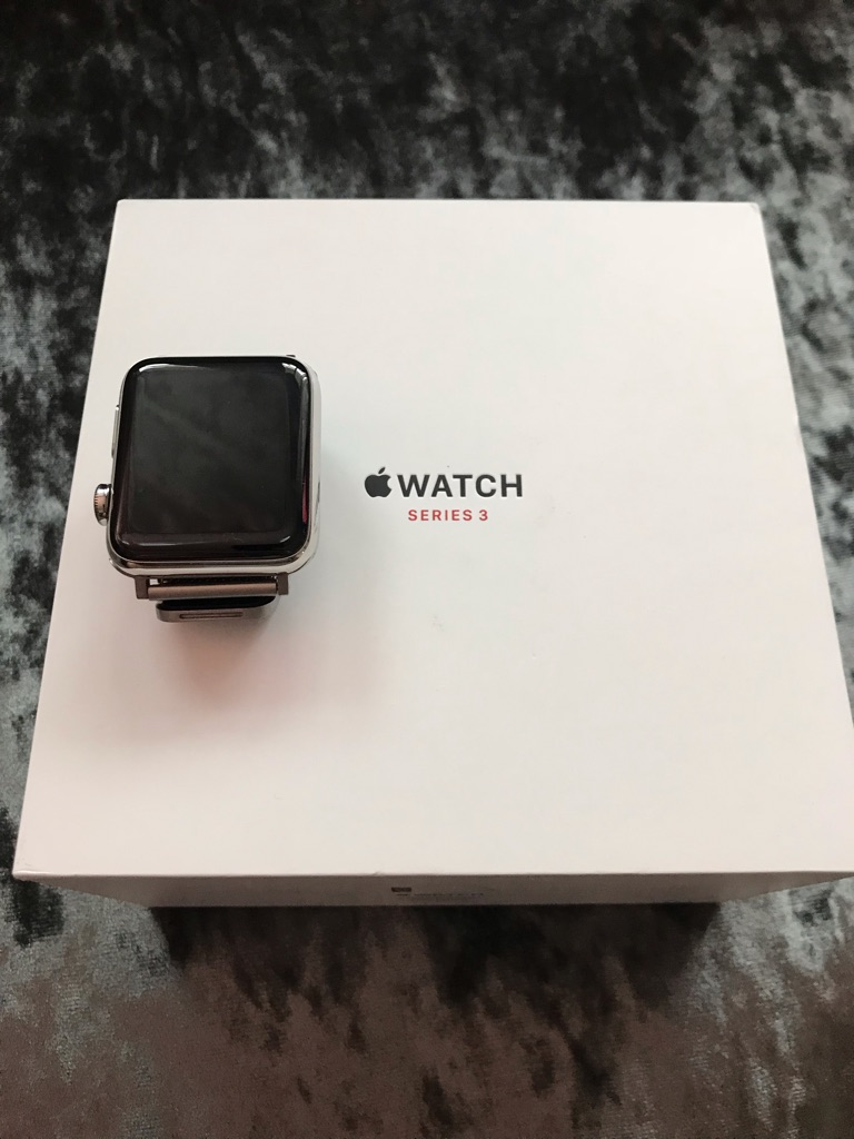 Apple Watch Series 3 GPS-Stainless Steel 42mm