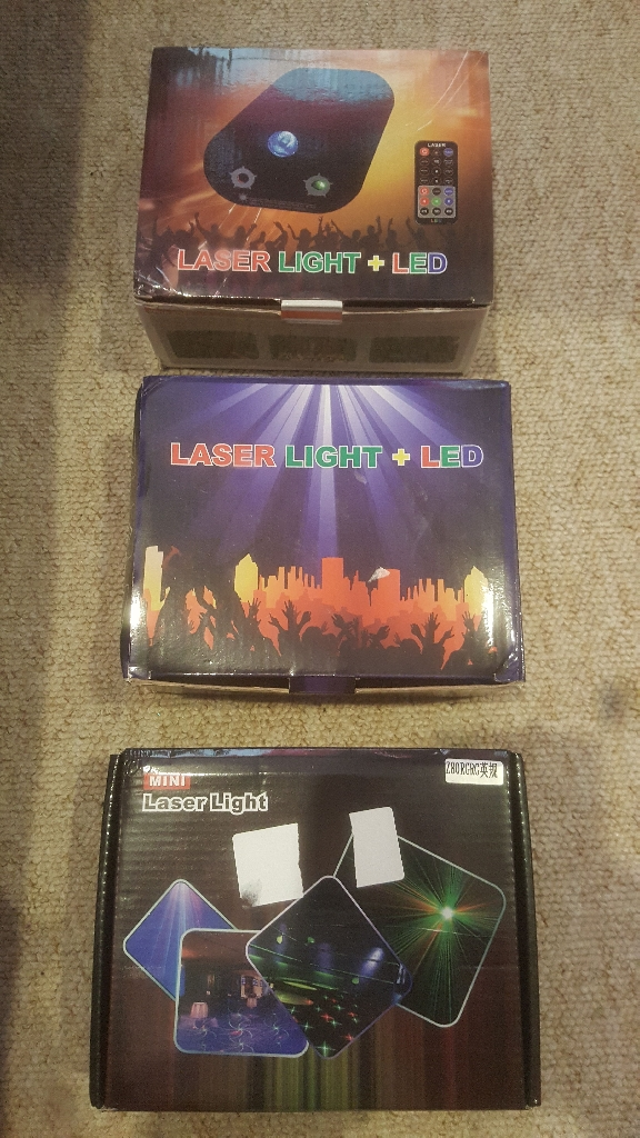 Laser light led brand new in box