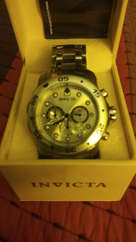 Invicta pro diver scuba chronograph watch
