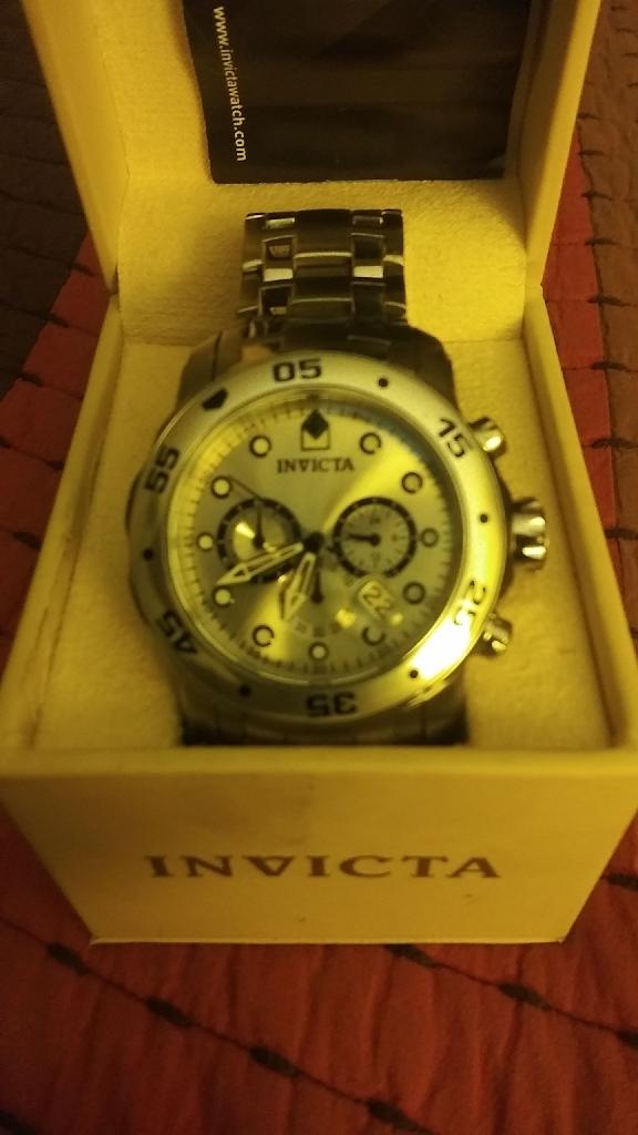 Invicta pro diver scuba chronograph watch