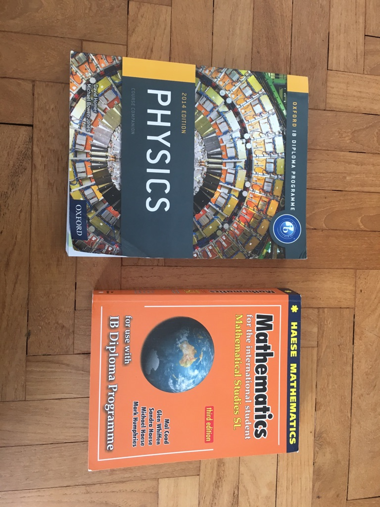 IB Physics/Maths textbooks
