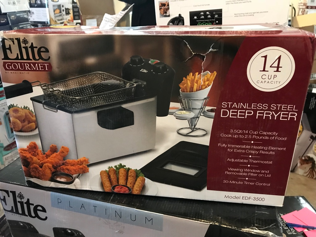Stainless steal deep fryer