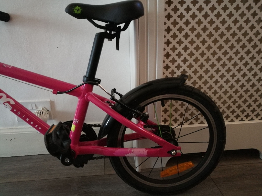 Frog  bike 48 pink