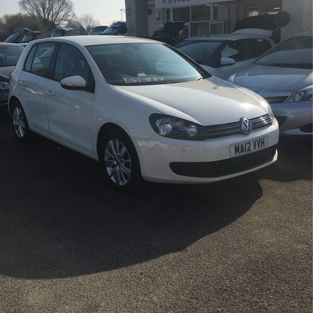 Volkswagen Golf 2012 1.6 TDI bluemotion match edition