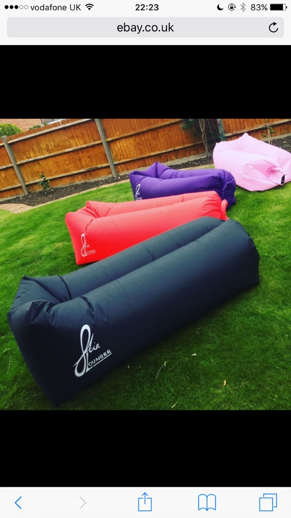 InfinityAir inflatable loungers