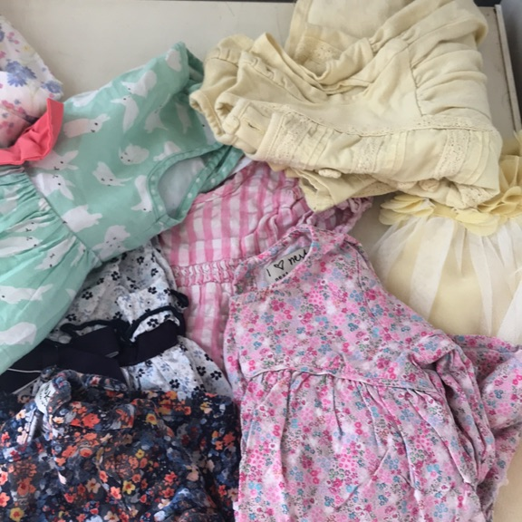 Lovely condition clean baby girls summer dresses
