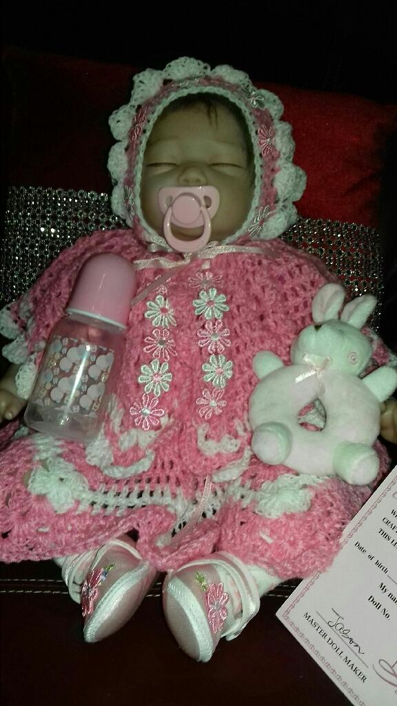 Brand new reborn baby girl