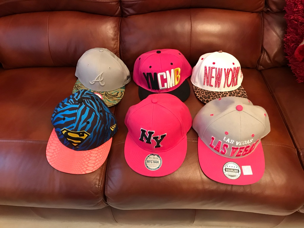 Girls baseball caps BRANDNEW