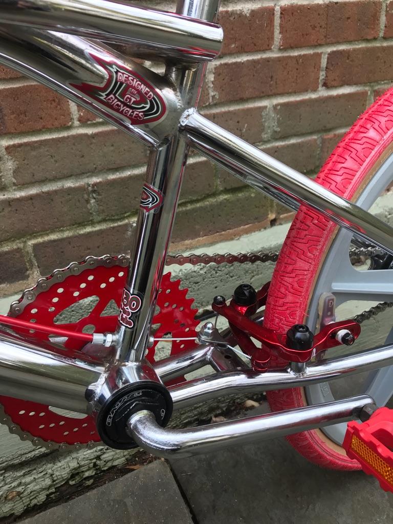 Dyno Compe [RED ALERT]: GT/Skyway/Haro/Redline/CW - BMX 80's FREESTYLE BIKE