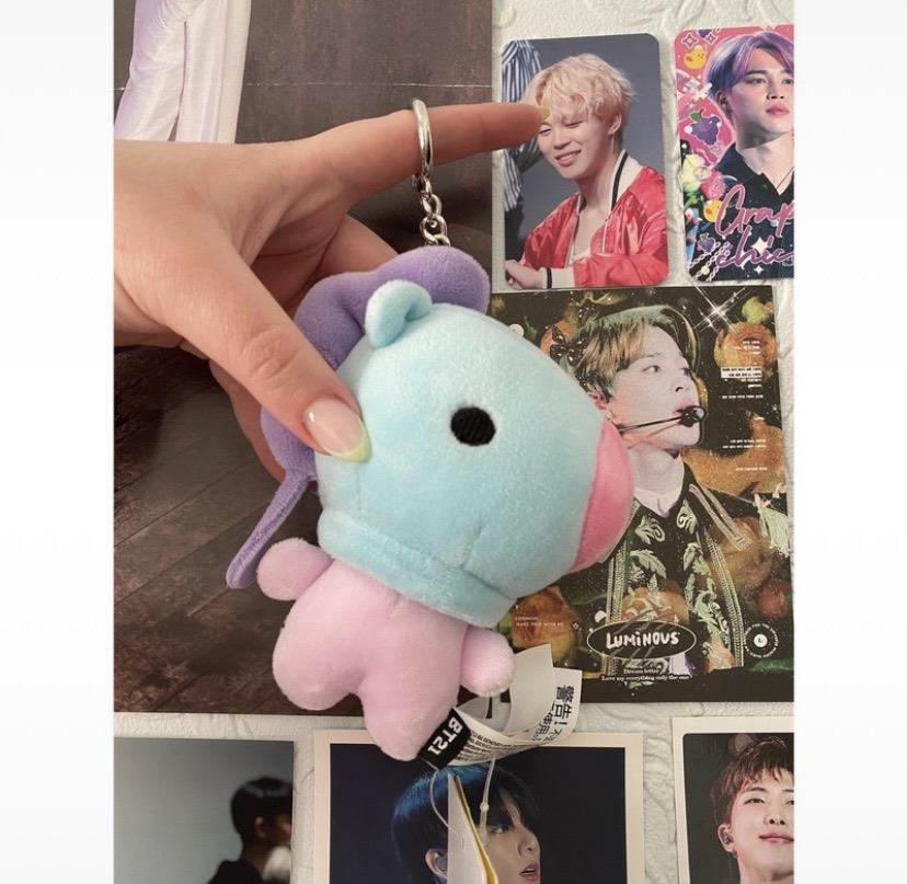 Official BT21 baby Mang bag charm