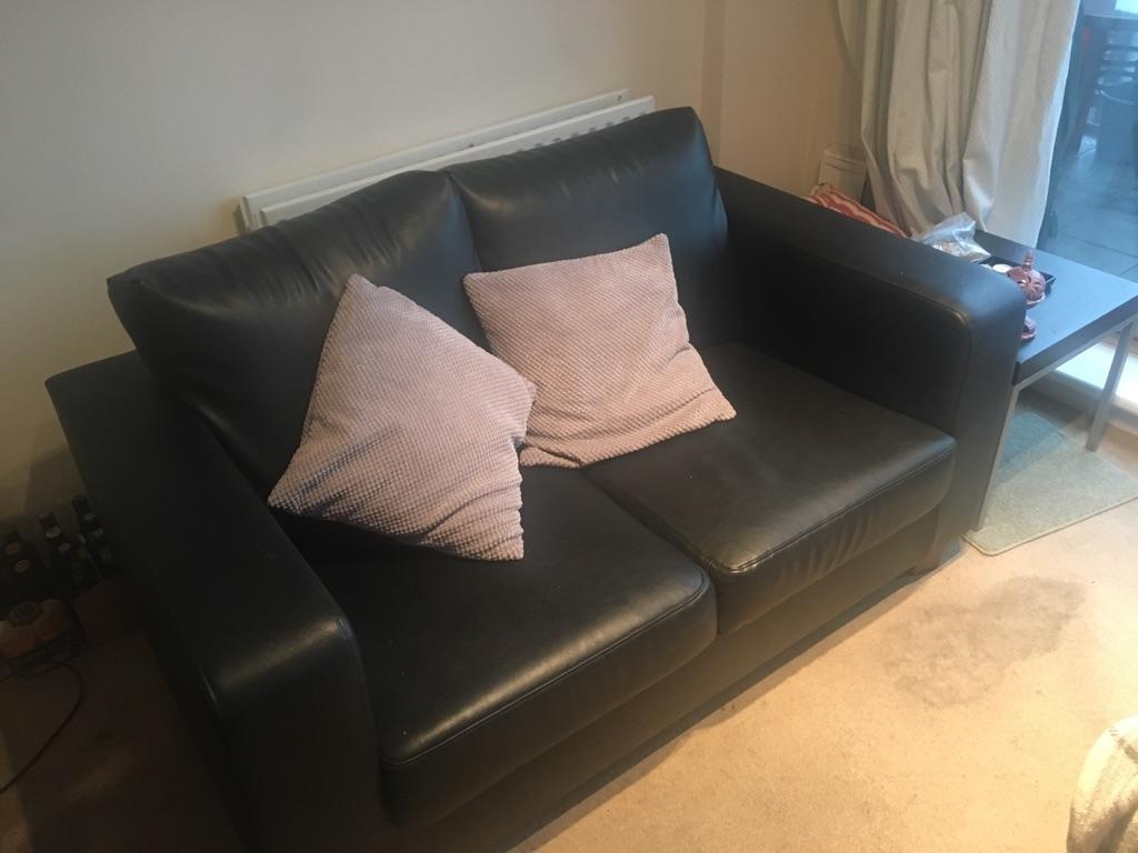 2 seater sofa + arm chair