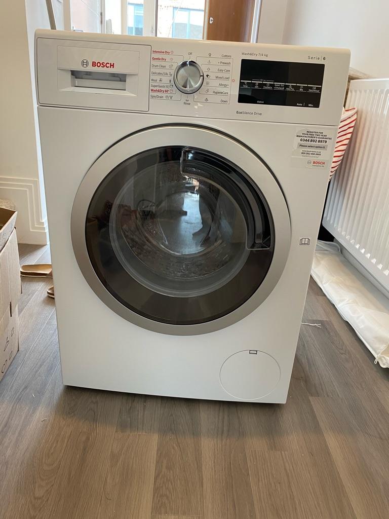 New Bosch Serie 6 washer dryer