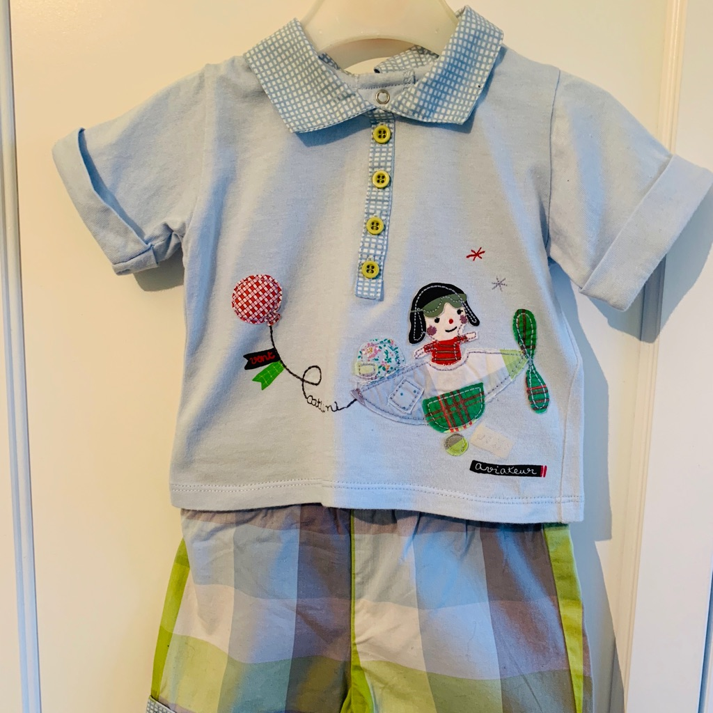 Catamini Baby Boy's Summer Outfit - Aged 3 months