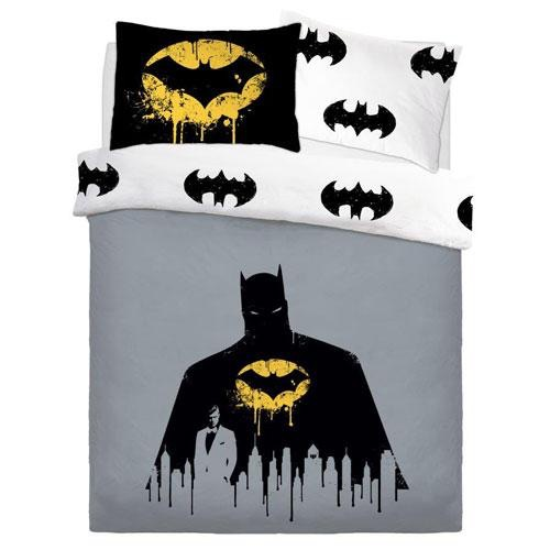 Official batman dark knight reversible duvet set