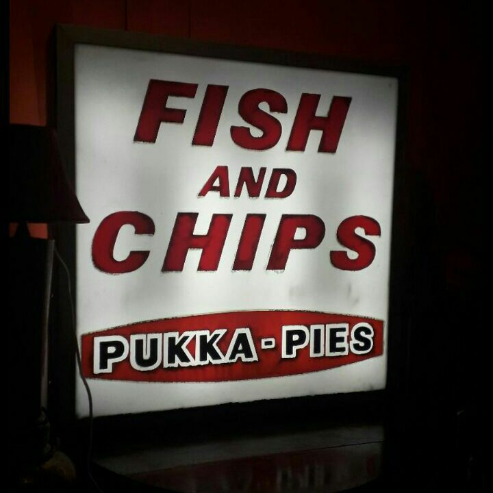 Chip shop sign