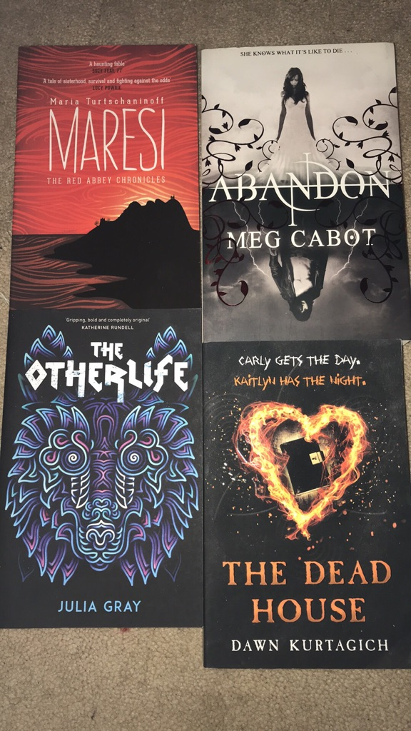 Teen Books - 4 books