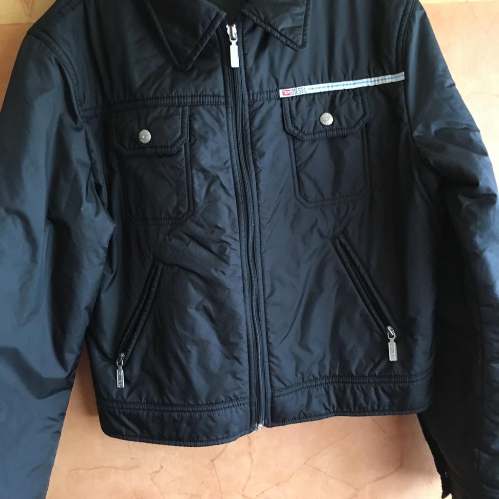 Black unisex Diesel jacket