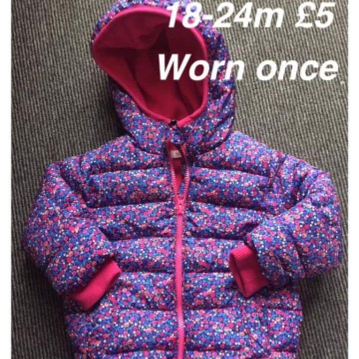Girls coat 18-24m
