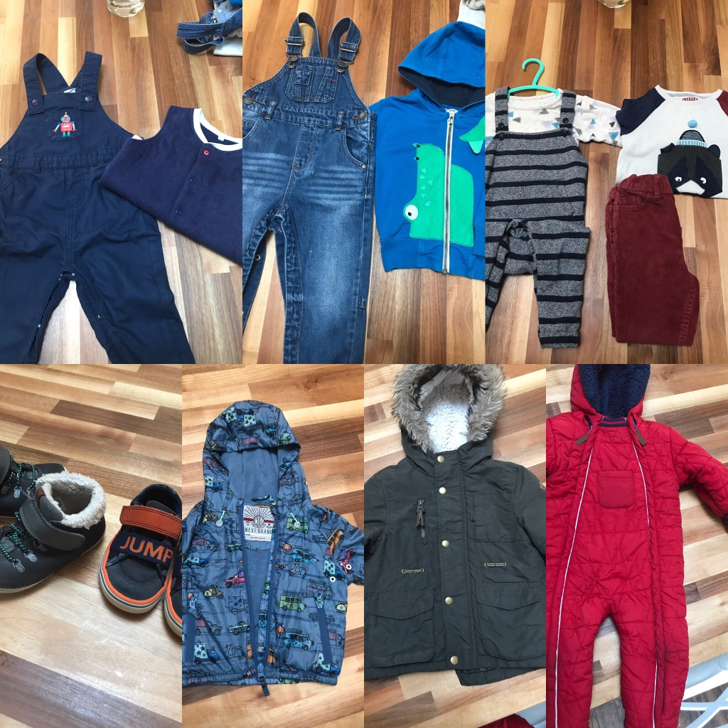 Baby/toddler boy clothes bundle age 1-2